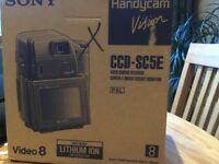 Sony Handycam Vision CCD-SC5E. Ideology camera recorder