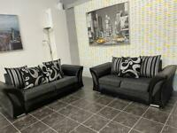 Ex display Shannon 3 seater and 2 seater sofa