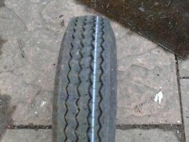 trailer tyre wheel