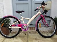 Girls decathlon 24inch bike