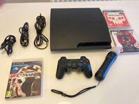 PS3 Bundle - Playstation 3 Slim Console 120Gb (2009)