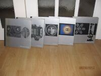 5 Photographic Books, titles include The Camera, The Print, Colour, Photographing Nature