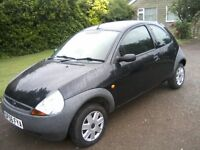 FORD KA 1-3 2006 (56 PLATE) 72,000 MILES, SERVICE HISTORY 2 PREVIOUS LADY OWNERS VERY TIDY ANY TRIAL