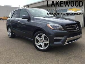 2014 Mercedes-Benz M-Class ML350 BlueTEC 4MATIC AWD (DVD Player)