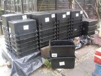 storage boxes 50 litre stackable