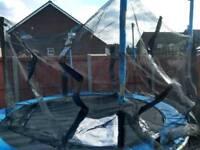 10 ft 8 pole trampoline NET