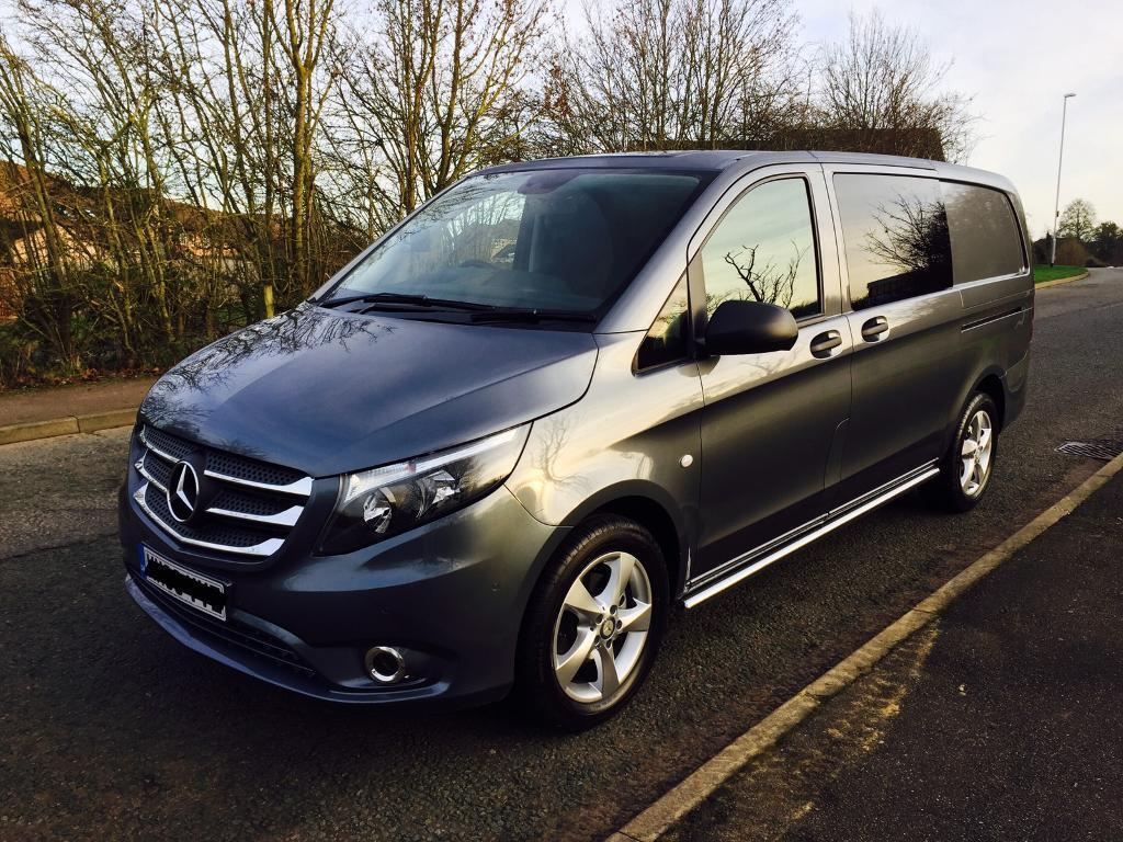 2016 mercedes vito 116 sport crew van long no vat in northampton northamptonshire gumtree. Black Bedroom Furniture Sets. Home Design Ideas