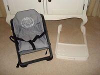 Portable lightweight high chair