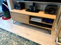 MADE Cerian Oak TV stand
