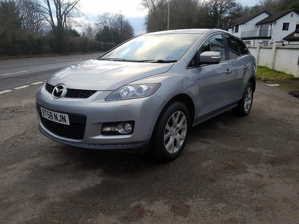 Lovely Mazda Cx-7 Petrol, Leather, Xenon, SERVICE HISTORY, NEW MOT, AFTER SERVICE.