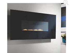 Focal Point Wall Mounted flueless gas fire-brand new-not required as new central heating fitted.