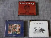 The Science Fiction album, Movie Themes golden greats, Academy award winners. Film Soundtracks