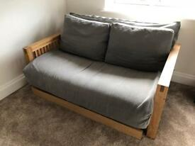 GENUINE FUTON DOUBLE SOFA BED