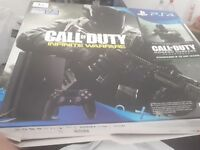 For sale PlayStation 4 slim 1TB + games and turtle beach headset