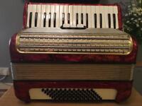 Hohner Concerto 2/ii 72 bass accordion