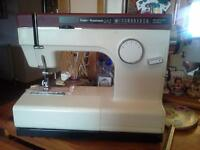 4 sewing machines Desk ,Assessories and dressmakers dummy
