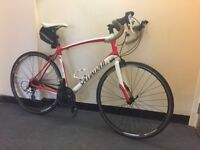 Specialized secteur entry level road bike with extras best on gumtree ready to commute
