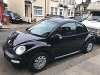 Black (VW) Beetle 2004, long MOT, cheap and reliable
