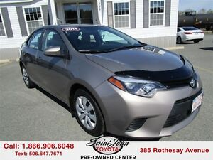 2014 Toyota Corolla LE with BackupCam+Heated Seats $131.23 BIWEE