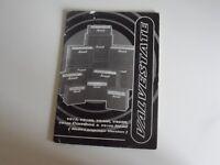 Marshall Valvestate Instruction Booklet