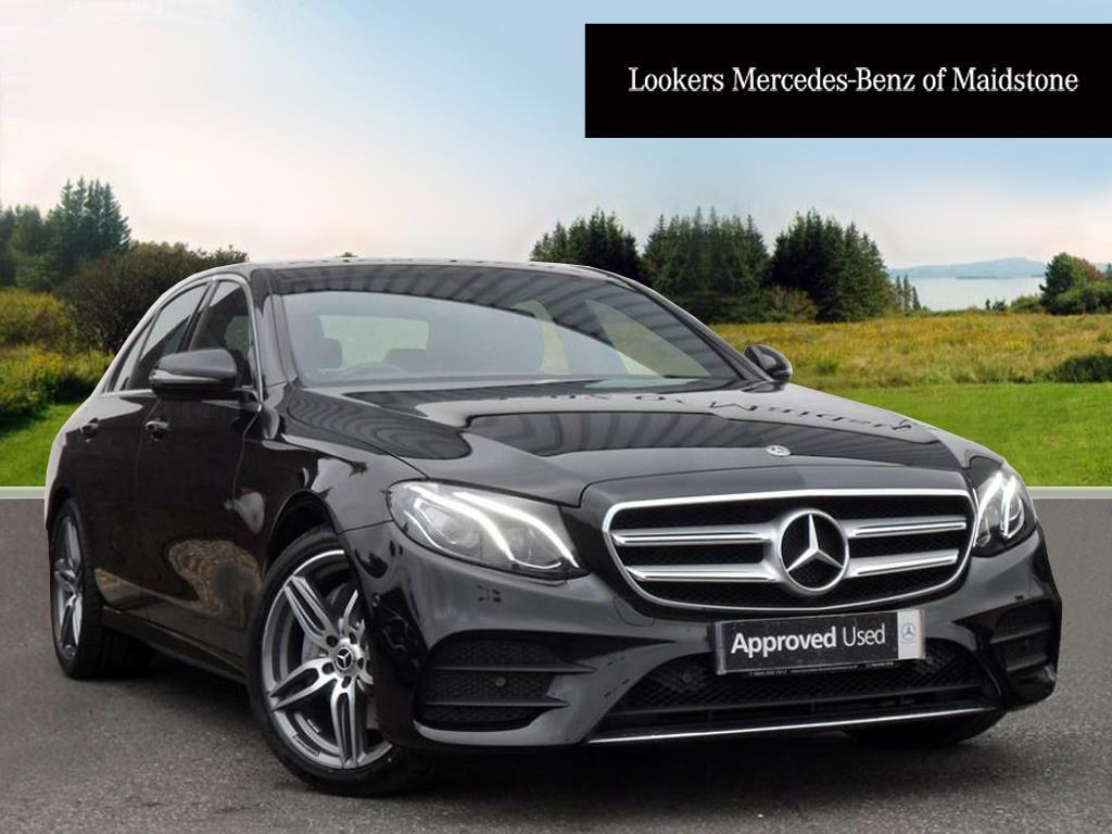 Mercedes benz e class e 220 d amg line black 2017 06 21 for Mercedes benz e class 2017 black