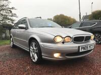Jaguar X-Type Estate 2.0d 2005 140,000 £1200