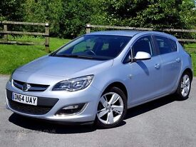 2014 64 Vauxhall Astra 1.4 16v SRi Turbo: One Owner, Very Low Mileage, Vauxhall Warranty to December