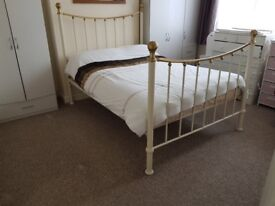 Double Bed Metal Frame For Sale