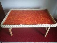 Folding Bed Tray