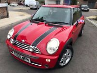 MINI Hatch 1.6 One 3dr, 2005,Hatchback,LOW MILES,NEW MOT,PANORAMIC SUNROOF