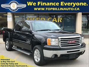 2010 GMC Sierra 1500 SLT 4WD LEATHER, BED COVER, CREW CAB