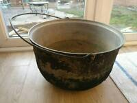 Cast Iron vintage large Pot