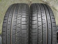 Pair of New 235 65 19 Pirelli Scorpion Verde All Season 4x4 Tyres Range Rover etc