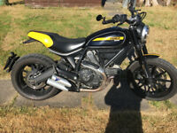 ducati scrambler full throttle with EXTRAS may px