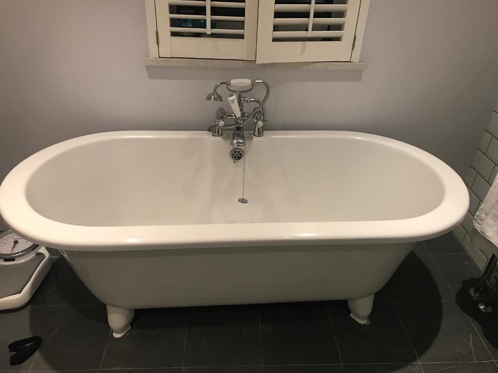 Basin free standing bath towel rail and loo if wanted c