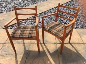 Carver Chairs mid century