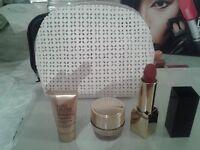 estee lauder set including lipstick mask anti age cream new genuine