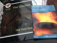 "2x GCSE English literature revision books ""The Crucible"""
