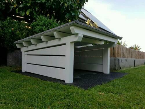carport garage f r m hroboter husqvarna gardena bosch. Black Bedroom Furniture Sets. Home Design Ideas