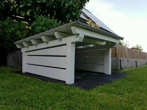 carport garage f r m hroboter husqvarna gardena bosch etc in schleswig holstein alveslohe. Black Bedroom Furniture Sets. Home Design Ideas