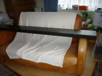 Black Ikea floating shelf