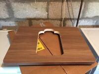 Ideal standard walnut sink counter top