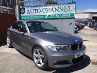 BMW 1 Series 2.0 120d Sport Plus 2dr£9,995 p/x welcome 1 YEAR FREE WARRANTY. NEW MOT