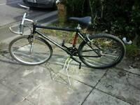 Mens saracen mountain bike