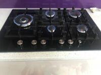 BOSCH Exxcel PPS816M91E Gas Hob - Black