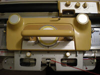 Serviced Empisal Knitmaster Automatic 326 knitting machine