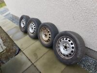 Vw steel wheels 5x112