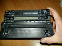 VW stereo with cd player with code is whell