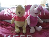 Winnie the Pooh and talking Piglet