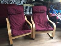 Ikea kids poang chair, I have got 2 for sale, £10 each